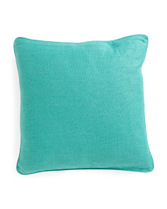 Made In India 22x22 Textured Linen Pillow