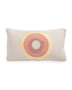 Made In India 14x26 Medallion Pillow