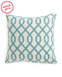Made In India 22x22 Trellis Pillow