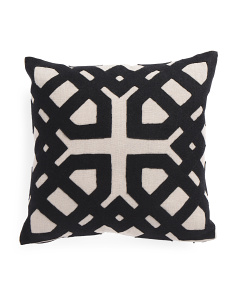 Made In India 18x18 Linen Pillow