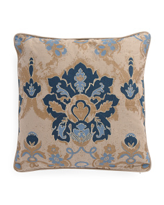 Made In India 20x20 Floral Pillow
