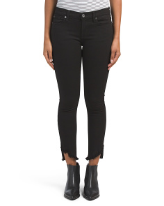 Gwenevere Jeans With Angled Hem