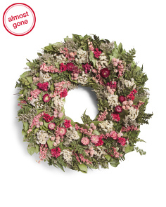22in Floral Wreath