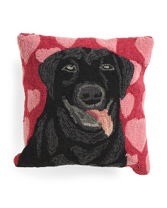 18x18 Indoor Outdoor Puppy Love Pillow