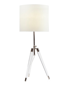 Crystal Tripod Lamp