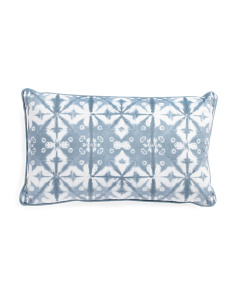 12x20 Shibori Velvet Pillow