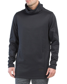 Courtside Stealth Funnel Neck Top