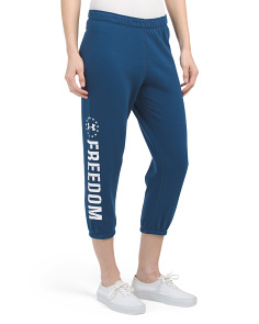 Freedom Fleece Capris