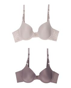2pk One Fab Fit Bras