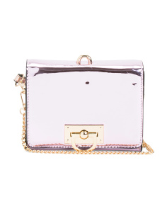 Liquid Metallic Crossbody