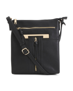 Large Triple Compartment Crossbody