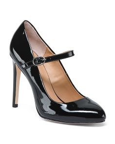 Mary Jane Patent Leather Pumps