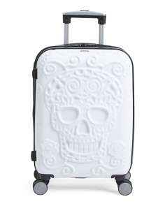 21in Skulls Hardside Spinner Carry-on