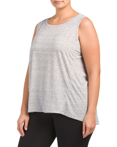 Plus Active Sleeveless Top