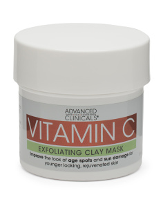 Vitamin C Exfoliating Clay Mask