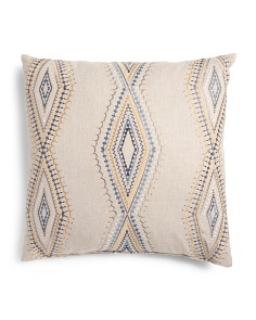 24x24 Oversized Linen Look Pillow