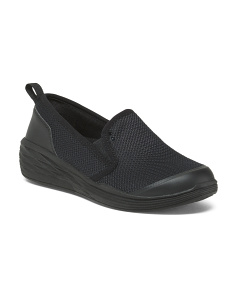 Breathable Mesh Slip On Sneakers