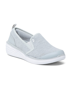 Breathable Mesh Slip-on Sneakers