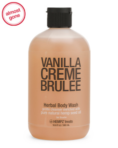 Vanilla Creme Brulee Body Wash