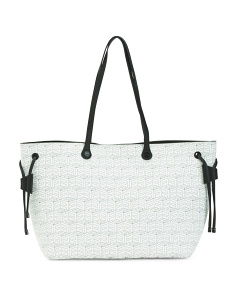 Signature Logo Tote With Pouch
