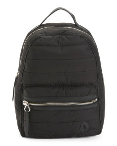 Quilted Luxury Backpack