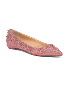 Made In Italy Glitter Flats