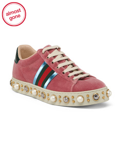Made In Italy Velvet Sneakers