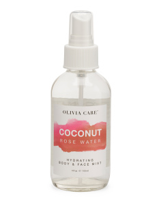 Coconut Rose Water Mist