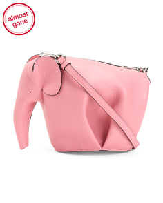 Made In Spain Leather Elephant Bag