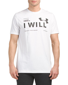I Will Short Sleeve Top