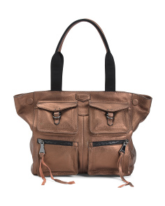 Leather Extra Large Sergeant Tote