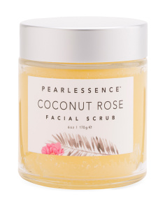 Coconut & Rose Face Scrub