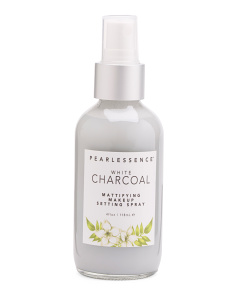 White Charcoal Make Up Setting Spray