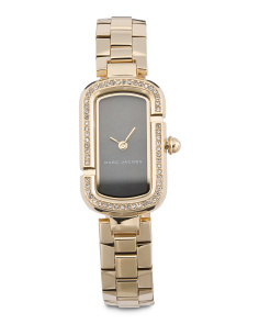 Women's The Jacobs Crystal Bezel Bracelet Watch