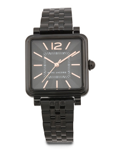 Women's Vic Black Ip Bracelet Watch