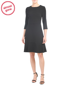Three-quarter Sleeve Dress