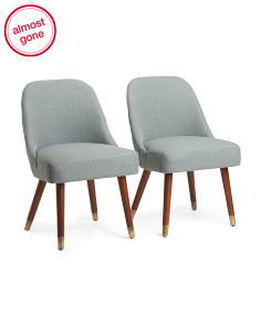 Set Of 2 Jenna Dining Chairs
