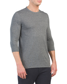 Threadborne Heathered Tee