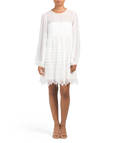 Luann Short Lace Dress