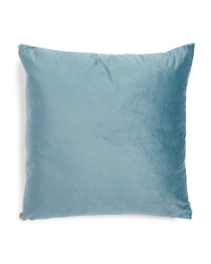 20x20 Velvet Zippered Pillow