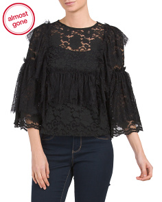 Lace Babydoll Top