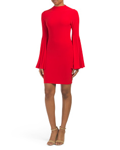Juniors Made In USA Bell Bodycon Dress