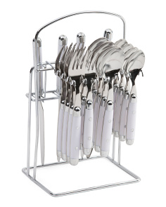 20pc Stainless Steel Jubilee Outdoor Caddy Set