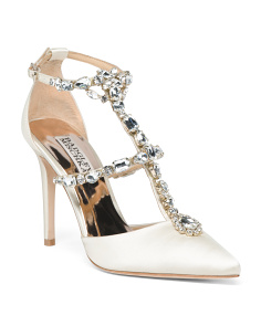 Crystal Embellished Evening Shoes