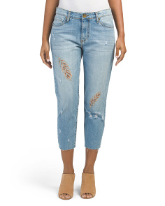 Allie Cropped Boyfriend Jeans