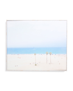 20x240 Aerial Beach Canvas Wall Art