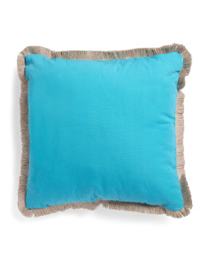 24x24 Indoor Outdoor Oversized Solid Pillow