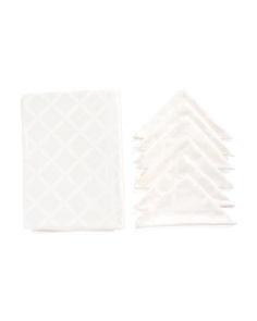 Laurel Leaf Tablecloth And Napkin Set