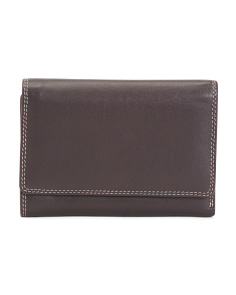 Folding Leather Wallet
