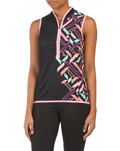 Bellsima Sleeveless Compilation Cycling Top